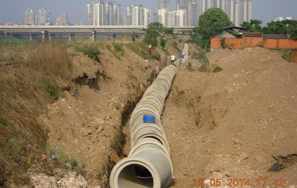安昌河右岸截污干管工程