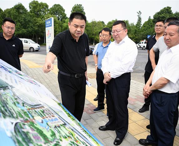 市委副书记、市长元方督导欧宝体育平台介绍集团城建攻坚行动重点项目