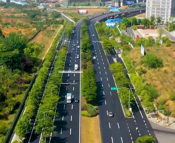 二环路道路维修工程(科大立交至塘汛立交段)全面完工