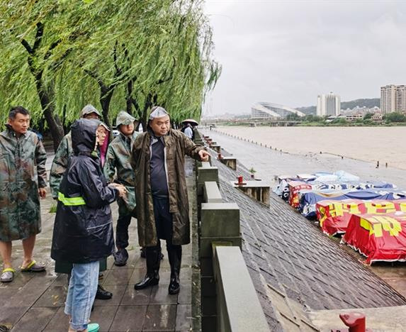 抗洪抢险进行时——暴雨升级!欧宝体育平台介绍集团众志成城应对我市新一轮强降雨天气