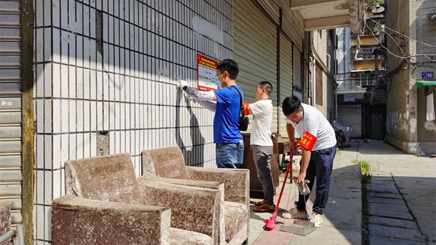 成绵路社区志愿服务2