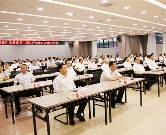 欧宝体育平台介绍集团党委集中组织收看庆祝中国共产党成立100周年大会